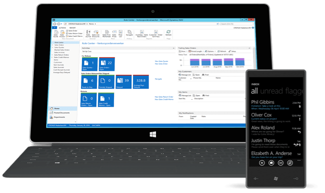 Connect people, processes and systems with Microsoft Dynamics NAV