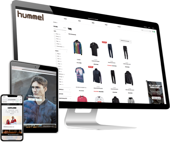 Hummel has chosen NORRIQ to expand both its B2B and B2C e-commerce solutions.